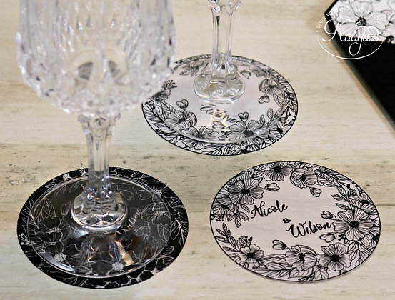 Coasters - Table Top Wedding Accessory