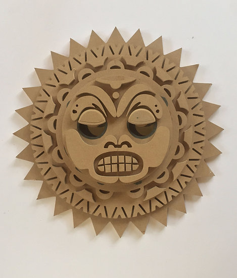 Polynesian Sun Mask