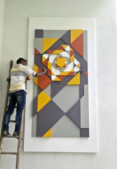 Abstract Rangoli