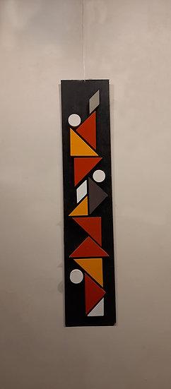 human tower abstract