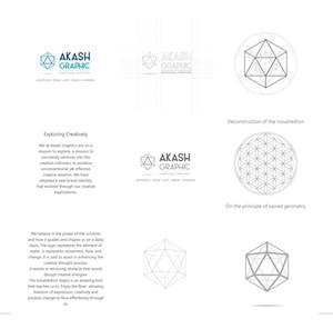 Akash Graphic logo