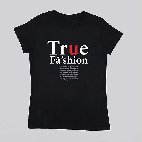 True Fashion (BLACK)