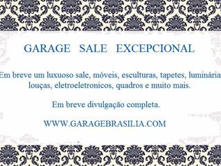 Garage Sale Excepcional - setembro 2017