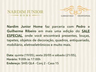 Sale Especial Nardim Junior Home e Garage Sale Excepcional