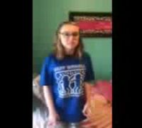 Aliyah sings We Are In This Together from High School Musical