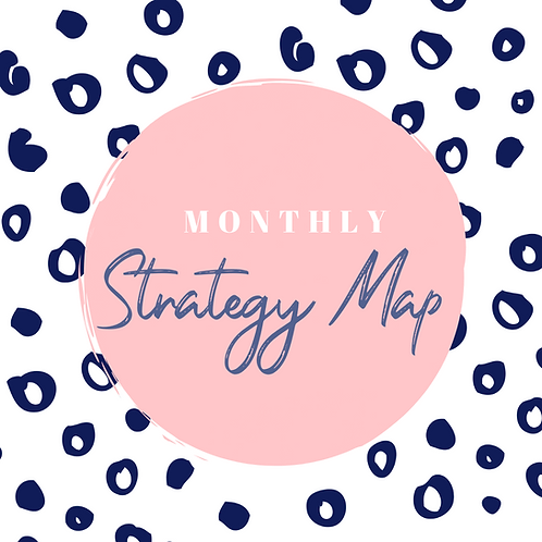 Monthly Strategy Map