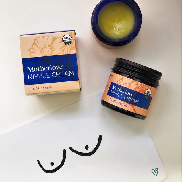 Motherlove®Nipple Cream - Αλοιφή για τις θηλάζουσες θηλές