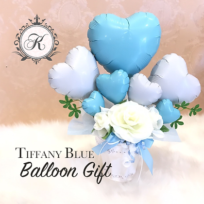 TIFFANY BLUE Balloon Gift