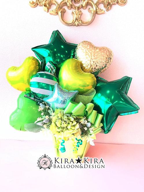 Green pop gift