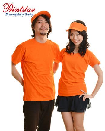 5.6オンス ヘビーウェイトTシャツ 015オレンジ メンズ レディース