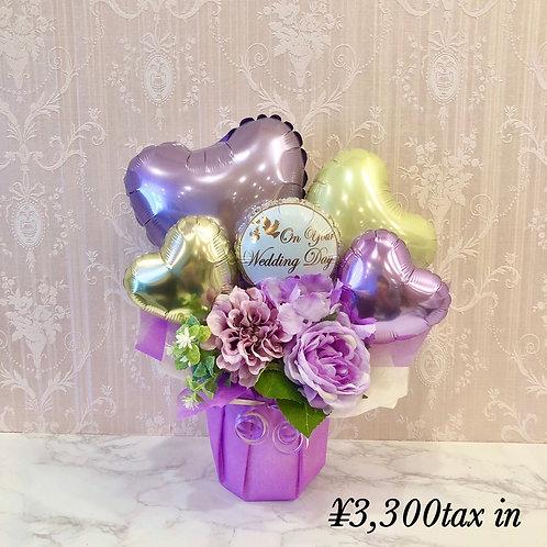 purple &ivory ウェディングギフト