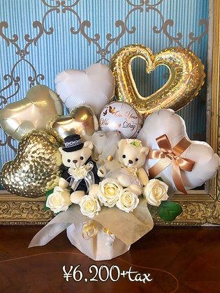 bear wedding  gift