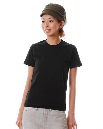 ライトウェイトTシャツ 005ブラック レディースモデル .jpeg