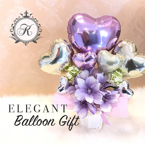 Elegant Balloon Gift