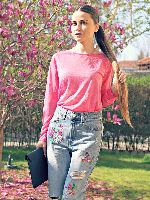 *Топ- Pink spring