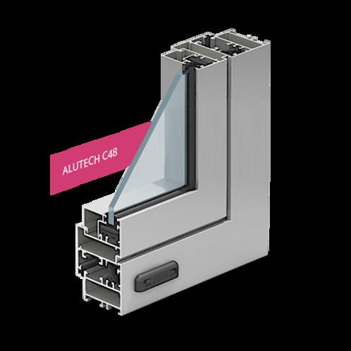 Алюминиевый профиль Alutech C48