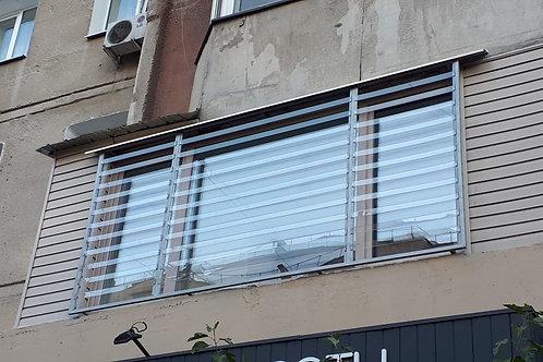 Прозрачные решетки на окна
