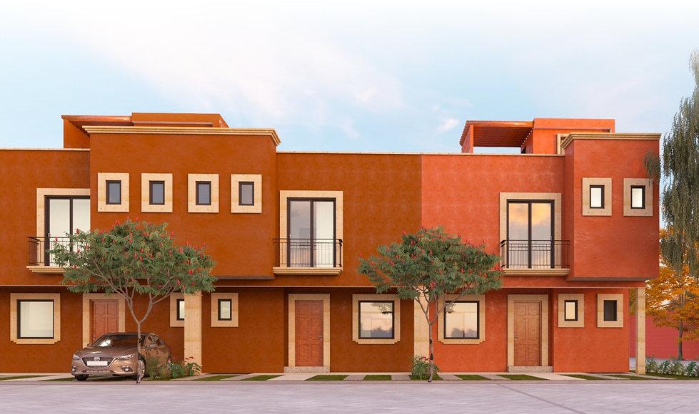 Casa Modelo Rosa Morada