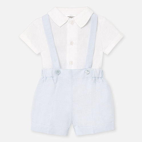 Mayoral Baby Boys Two Piece Shorts & Shirt Set