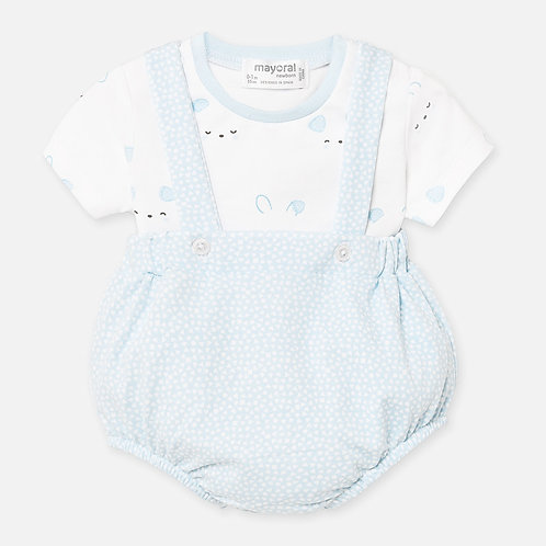 Mayoral Baby Boys Two Piece Romper Set
