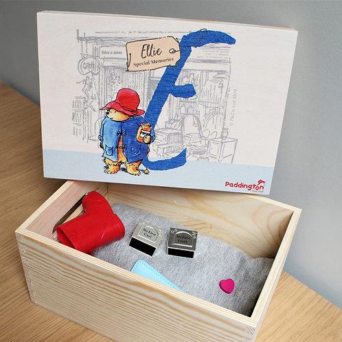 Paddington Bear Personalised Special Memories Box
