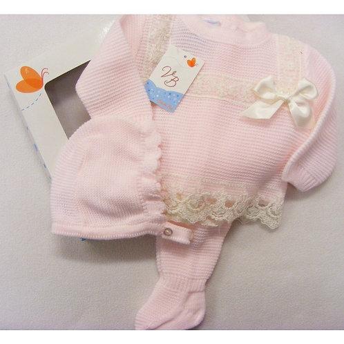 Baby Girls Three Piece Fine Knit Set