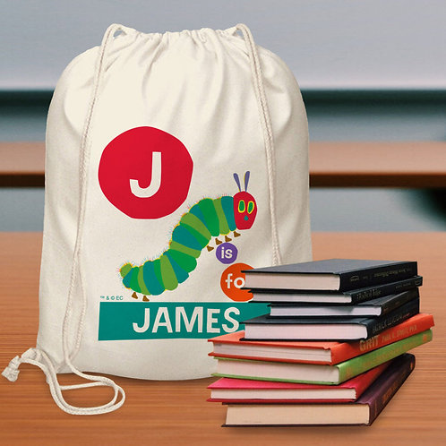 Very Hungry Caterpillar Personalised Bag