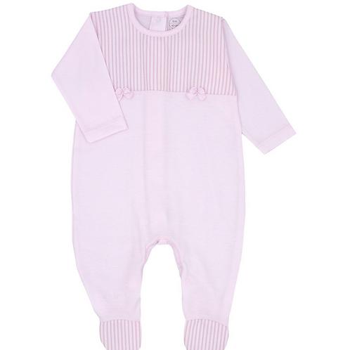Rapife Baby Girls Pale Pink Babygrow