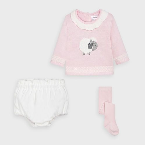 Mayoral Baby Girls Three Piece Set