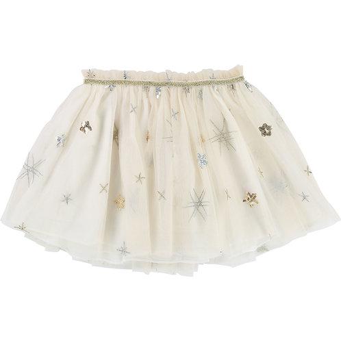 Billieblush Girls Tulle & Glitter Skirt