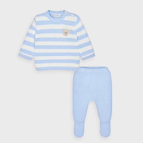 Mayoral Baby Boys Two Piece Knitted Set