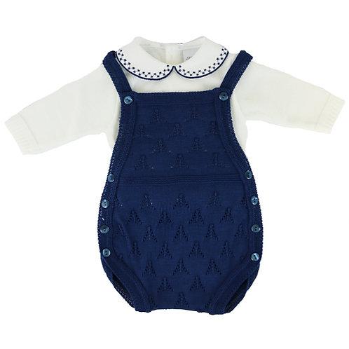 Dandelion Baby Boys Vest  & Knitted Romper
