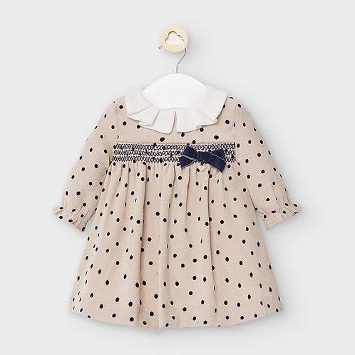 Mayoral Baby Girls Polka Dot Smock Dress