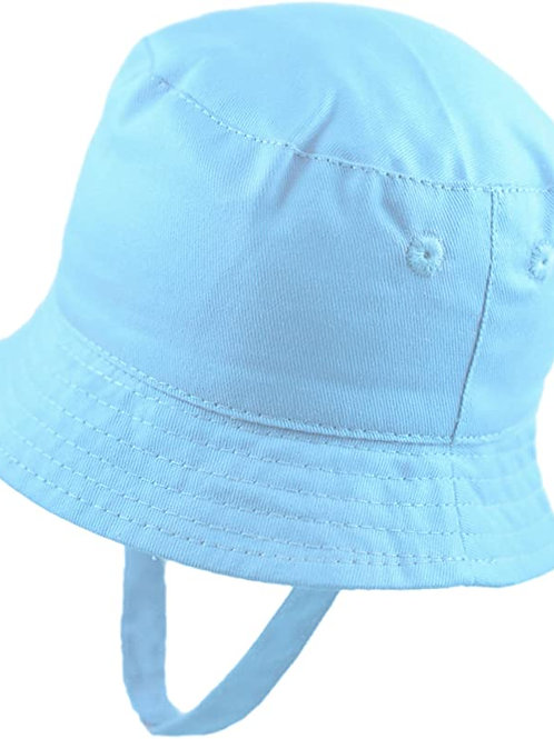 Pesci Baby Boys Sky Blue Sun Hat
