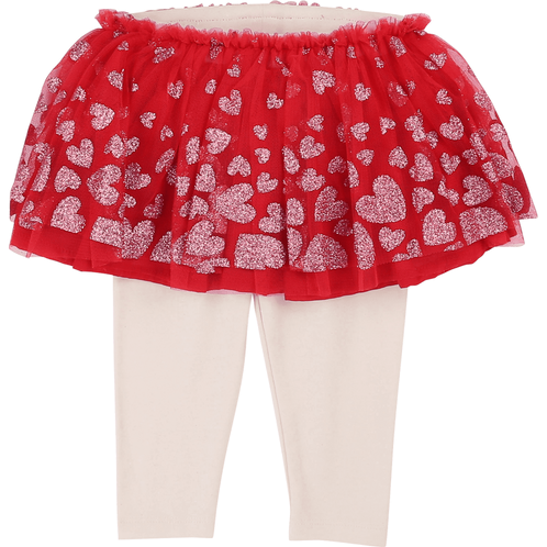 Billieblush Tulle Skirt with Attached Leggings