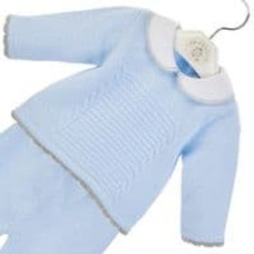 Dandelion Baby Boys Pale Blue Two Piece Set