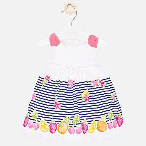 Mayoral Baby Girls Sun Dress with Fruit Design