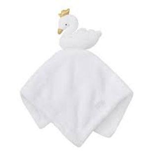 Baby Girls Swan Comforter