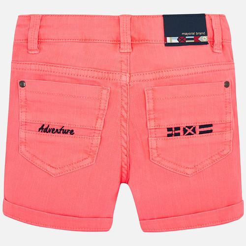 76e8caaafd Mayoral Bermuda Orange Shorts