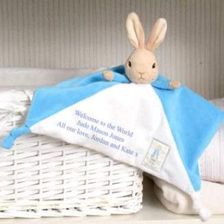 Peter Rabbit Personalised Comforter