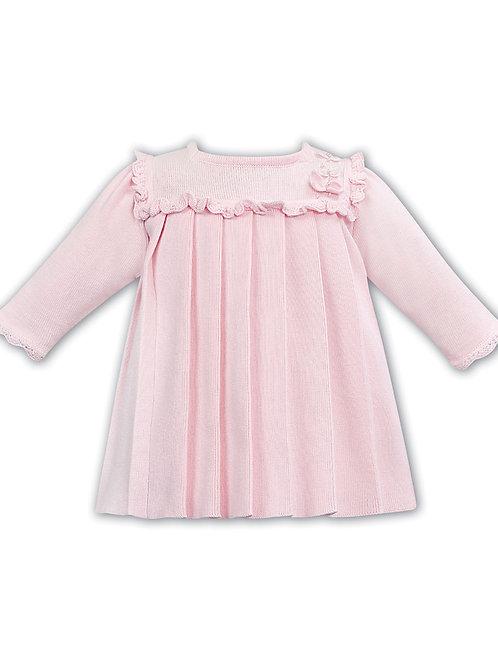 Sarah Louise Pale Pink Fine Knit Dress