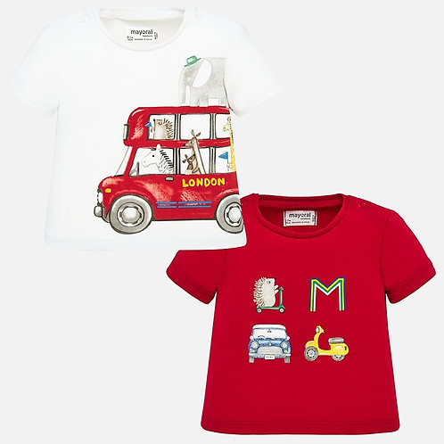 Mayoral Baby Boys Two Piece T Shirt Set