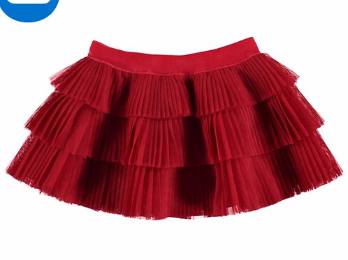 Mayoral Baby Girls Red Tulle Skirt