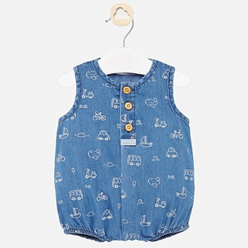Mayoral Baby Boys Sleeveless Romper