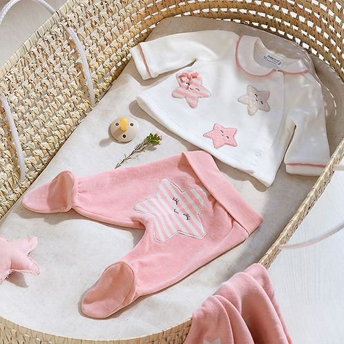 Mayoral Baby Girls Two Piece Top & Trousers Set