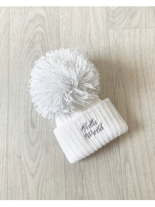 Embroidered Knit Hats