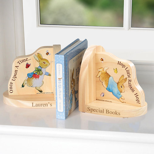 Peter Rabbit Personalised Book Ends