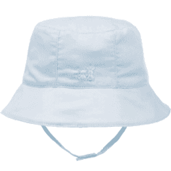 Emile et Rose Baby Boys Pale Blue Sun Hat with Strap