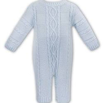 Sarah Louise Baby Boys Knitted Romper