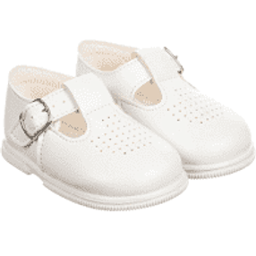 Little Boys/Girls White Hard Sole Baypods Shoes